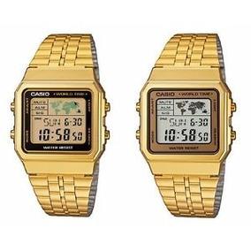 9d8e27d0962 Relogio Masculino Casio Dourado - Relógio Casio no Mercado Livre Brasil