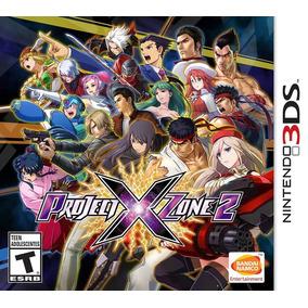 Project X Zone 2 Nintendo 3ds 2ds Original Envio 12,00