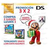 Mario Y Más Juegos Originales Consolas Nintendo Ds Y 3ds