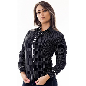 4425cb0eae Camisa Feminina Pimenta Rosada - Camisa Social Manga Longa Feminino ...