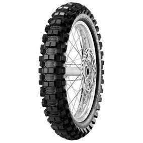 Pneu Moto Pirelli Aro 18 100/100-18 59m Traseiro Scorpion Mx