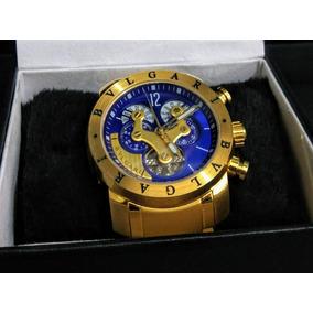 d42b951619d Relógio Luxo Invicta Bvlgari - Relógios De Pulso no Mercado Livre Brasil