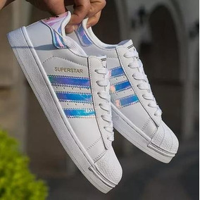 the latest f20d5 c0209 Vsv Zapatos adidas Superstar Tornasol 36 Al 40 (tienda)