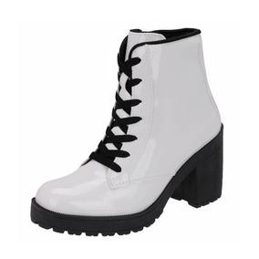 c9efd66d5 Sapato Salto Alto Salmon Vizzano Botas - Botas Branco no Mercado ...
