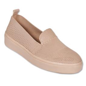 Calzado Dama Mujer Sneaker En Textil Palo De Rosa Comodo