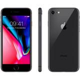 iPhone 8 Apple 256gb Cinza Espacial Tela Retina Hd 4,7 Ios