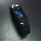 Pulseira M4 Inteligente Smartband Relógio Monitor Do Sono