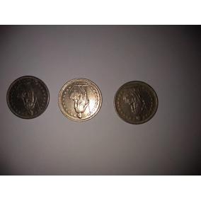 3 Moedas Raras 1/2 Franco Suica Helvetia Reverso Invertido