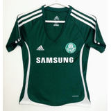 Camisa Palmeiras Feminina Tam P Oficial adidas