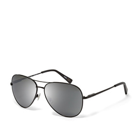 0ac91454af579 Óculos De Sol Aviador Fossil Austin Ms3879 Jet Black Unisex