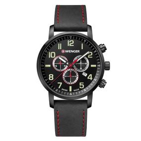 Relógio De Pulso Suíço Wenger Atitude Cronógrafo 01.1543.104