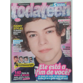 Revista Todateen 209 - Harry Styles Do Direction