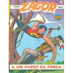 Brasil 1991 Quadrinhos Zagor Nº 21 Editora Record
