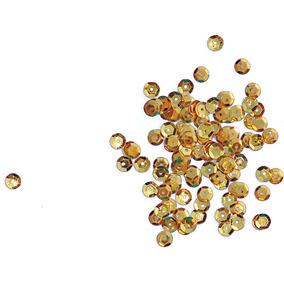 4 Lantejoula Potes 2g. N.06 Ouro Real Seda Duzia