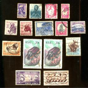 África Do Sul 2ª Guerra Mundial 1942 Veja + Selos Clássicos