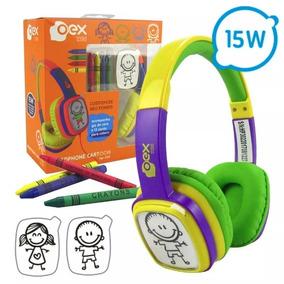 Headphone Cartoon Oex Kids Hp.302