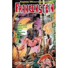 Quadrinho Gibi Capitão Mistério Frankenstein Nº 4 Ano 1 Cx00