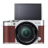 Fujifilm X-a3 + Xc16-50mm Cámara Mirrorless, Color Café