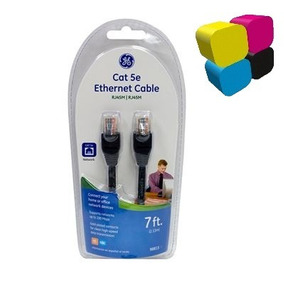 Cable Patch Cord Cat5 Rj45 Ethernet 2.2 Mts General Electric