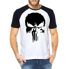 add14c22b2cf5 Camiseta Justiceiro The Punisher Marvel - Camisetas Manga Curta para ...