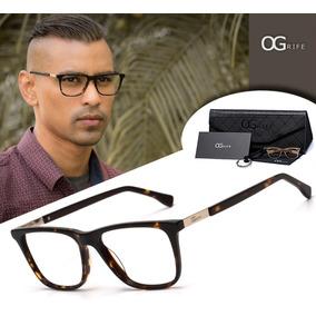 Armacao Oculos Masculino Armani - Óculos Armações no Mercado Livre ... 7dfe33148d