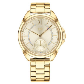 67960aa5bf4 Relógio Tommy Hilfiger Womens 1781279 Gold - Relógios De Pulso no ...