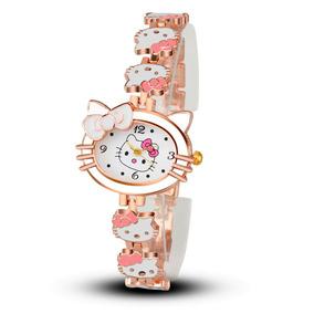 d33cf4dc5f3 Relogio Infantil Feminino Da Hello Kitty - Relógios no Mercado Livre ...