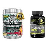 Amino Build Muscletech 281g Bcaa Importado Nutrex Decanate