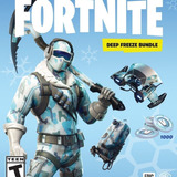 Fortnite Starter Pack #1 Deep Freeze Y 1.000 Pavos Pc, Ps4