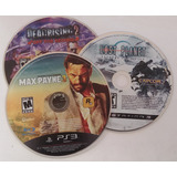 Ps3 Pack De Juegos (max Payne, Lost Planet, Dead Rising 2)