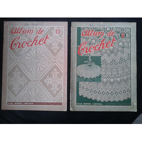 Revista Álbum De Crochet ( Portugal ) 2 Volumes