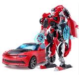 Transformer Camaro Bumblebee Rojo (guinda)