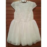 Vestido Elegante De Niña Ideales Para Bautizo O Cumpleaños