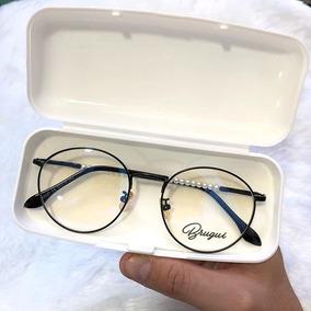 4ff8997d46326 Armacao De Grau Round Preto - Óculos no Mercado Livre Brasil