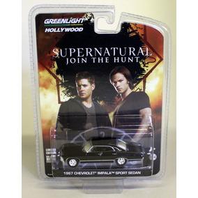 Impala Supernatural Greenlight Hollywood Escala 1 64