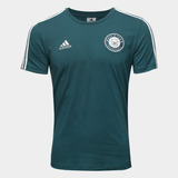 Camisa Palmeiras adidas 3s Porco Masculina Original Verde
