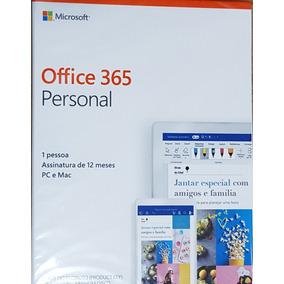 Office 365 Personal, Na Caixa Envio Pelos Correios