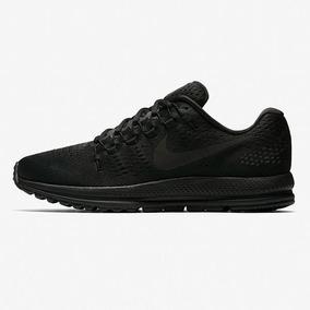 Tênis Nike Air Zoom Vomero 12 De Corrida Black Masc Original