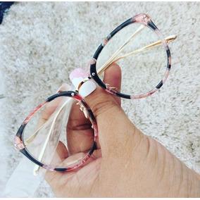 Armação Oculos Grau Feminino Terracota - Óculos no Mercado Livre Brasil 8a625388b5