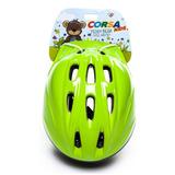 Capacete Bike Infantil Corsa Teddy Bear Kids Com Regulagem