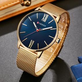 Reloj Curren 8238 Dorado Casual Original + Estuche + Envío