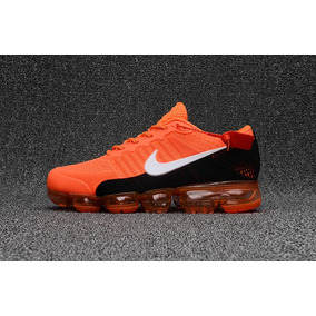 Tenis Vapormax Flyknit Black Orange Elite