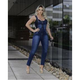 382942100 Macacão Jeans Comprido Da - Macacão para Feminino no Mercado Livre ...