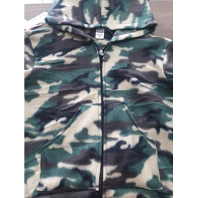 Blusa Camuflada Adulto (exército) Soft