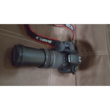 Canon Eos 60d Faja Cargador Memoria Lente 75 300
