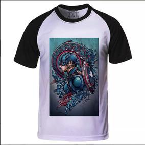 Camiseta Ironfist Personagem Marvel Raridade Personalizada ... e61e2506178c4
