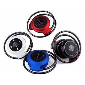 Fone De Ouvido Bluetooth Estéreo Com Rádio, Entrada Para Car