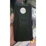 Funda Uso Rudo Y Mica Glass H9 Moto Z2 Play Envio Gratis