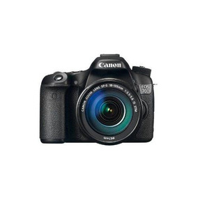 Canon - Eos 70d Dslr Con Lente 18-135mm Is Stm - Negro