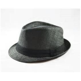 Chapeu Panama Preto Aba Curta - Chapéus para Masculino no Mercado ... b73e04e4fa3